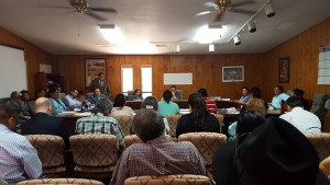 Recent budget and finance meeting on the Navajo Nation