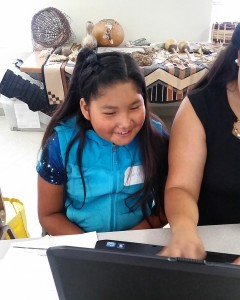 Online courses lay the groundwork of business education for the Tribal Youth Ambassadors.