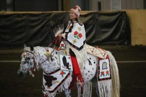 Aurolyn on horseback at Brasada Ranch in 2017