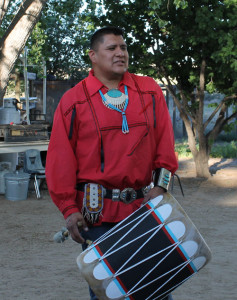 Red Turtle Dancers drummer