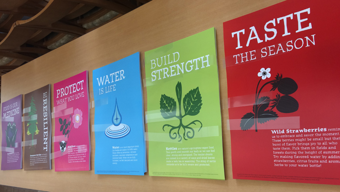 Healthy beverage posters intended for display in classrooms and throughout tribal communities to promote ancestral beverage consumption.