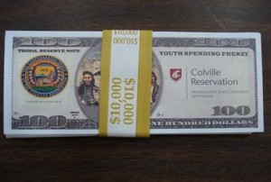 Bills designed by the Confederated Tribes of the Colville Reservation
