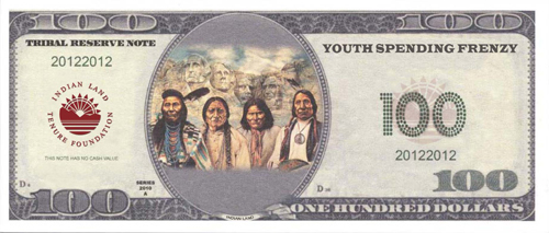 Custom $pending Frenzy Bill created by Indian Land Tenure Foundation and the Confederated Tribes of the Colville Reservation