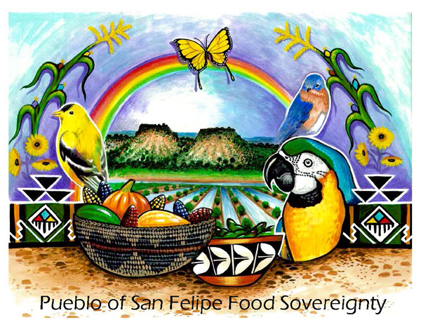 Used with permission of Pueblo of San Felipe and Tim Valencia