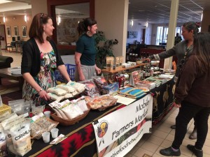 Ho-Chunk Food Sovereignty Initiative partnered with the Mobile Farmers' Market to share its products with Ho-Chunk tribal members