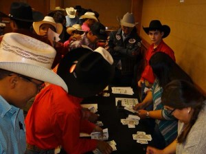 $pending Frenzy participants pay for housing while Rodeo Bucks Youth Ambassador Bo Tyler Vocu (third from right) looks on