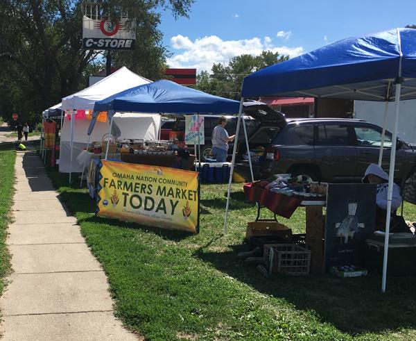 Omaha Tribe's Farmers' Market