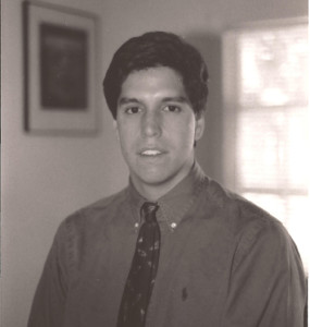 Mike during his first week with First Nations in 1992.
