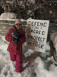 Young Gwich'in Protester Lexine Demientieff