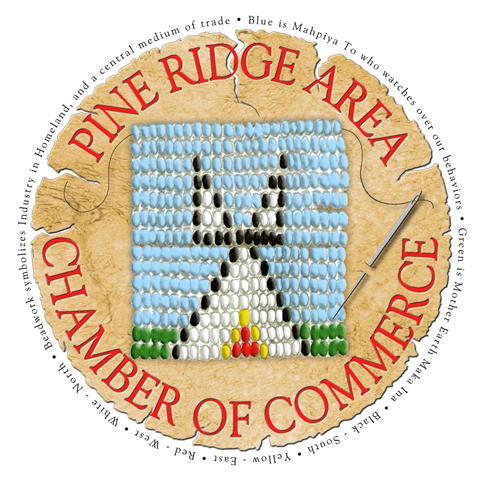 pine ridge chamber logo