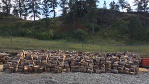 Cut wood for seniors.