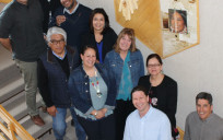 "At the March 2018 kickoff meeting of partners under the ""Supporting Community Intellectuals in Native Communities"" project. Included are Shelly Fryant, Rene Dubay and Michael Munson of Salish Kootenai College, Carnell Chosa and Regis Pecos of Santa Fe Indian School Leadership Institute, and Darren Kipp of The Piegan Institute. From First Nations are Michael Roberts, Raymond Foxworth, Catherine Bryan and Marsha Whiting. Monica Nuvamsa from The Hopi Foundation was unable to attend."