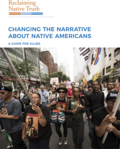 The Reclaiming Native Truth messaging guide for allies.