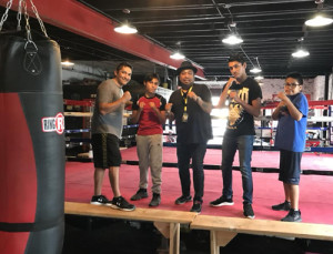 A field trip to the Tulsa Boxing Gym brings young men and boys together in respect and responsibility.