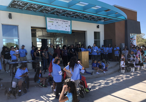Remarks during the Grand Opening of Ho'N A:wan Community Park