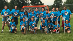 Youth programming is another focus for Dakota Wicohan. Through the organization's outreach and education projects, kids come together for Lacrosse Camp.