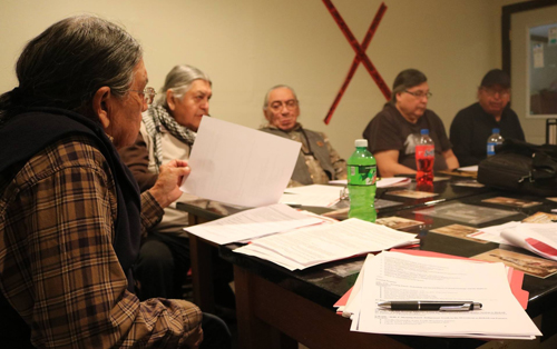 The council's job is to share knowledge to protect the rights of the Sicangu Lakota as part of the Great Sioux Nation and the Oceti Sakowin Tribes within the boundaries of the Great Sioux Reservation.