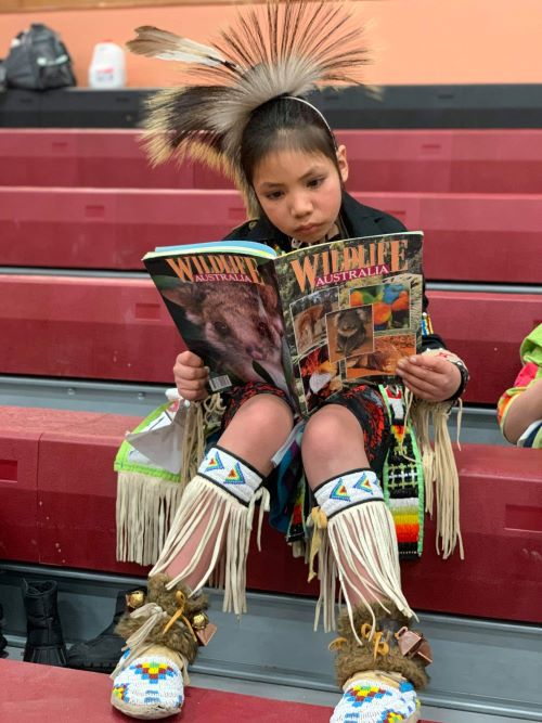 Through the Lakota Waldorf School, kids are given every opportunity to learn a strong cultural identity and reverence for the heritage.
