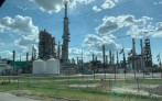 New construction at Three Rivers is considered the hub for the Jupiter Oil Pipeline running to Brownsville, Texas.