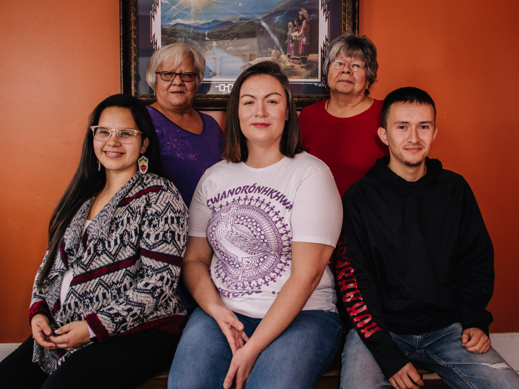 The tenacious teachers of the Akwesasne Freedom School in Hogansburg, New York.