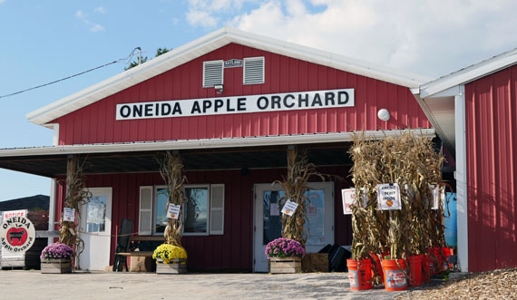 One of Oneida Nation's many food-related businesses.